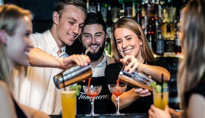 hen party bartenders Sydney